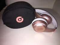 Beats by Dre Solo3 On-Ear Wireless Headphones - Rose Gold SRP £249.99 (50% OFF!)