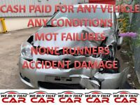 TOP MONEY PAID FOR UNWANTED SCRAP CARS VEHICLE NONE RUNNERS MOT FAILURES TIPTON
