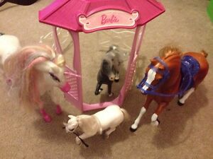 Barbie horses Cranbourne South Casey Area Preview