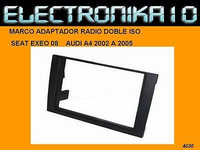 urgente - Marco de montaje radio AudiA4 2002 A 2005 Seat Exeo...