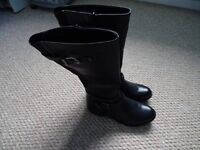 Brand New Lilley long black boots size 39 (6)