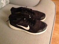 Black Nike trainers UK 4