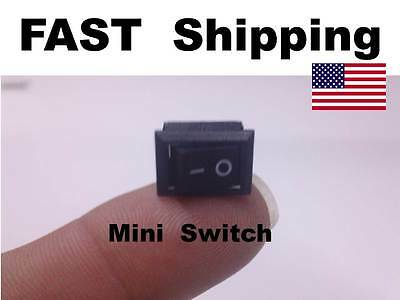 1x - Mini Small Switch -  250V AC 3A ---- 125V AC 6A ---- On Off --- 12v DC 5A