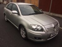 Toyota Avensis 2006 1.8 VVT-i T3-X 5dr Service History HPI Clear Never Been Taxi