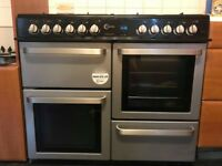FN10FR 100cm Rangestyle cooker (2 ovens/ seperate grill + 8 burners) SALE/CHEAP