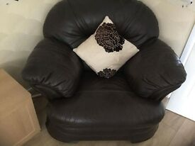Beautiful Real Leather Suite
