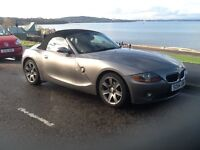 BMW Z4 convertible 2.2ise