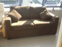 Brown John Lewis Sofabed, excellent condition.