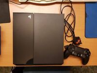 Ps4 like new condition very clean and quiet with controller