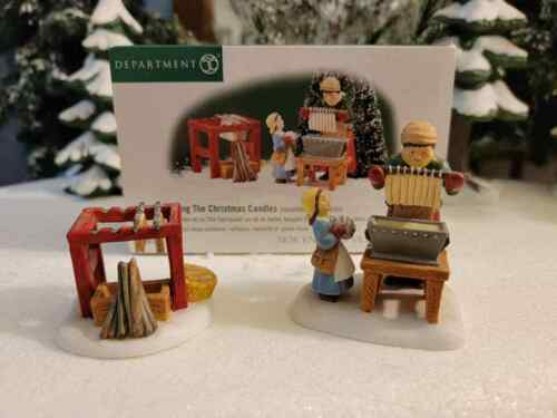 Dept 56 New England - Making the Christmas Candles