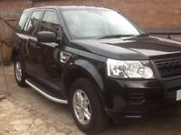 2011 Land Rover Freelander 2.2 td4 Black 5 Door