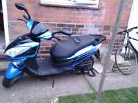 Lexmoto 125cc moped