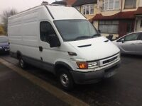 IVECO DAILY MWB 2300 DIESEL LONG WHEEL BASE, SEMI HIGH TOP MOT EXPIRED DRIVE GOOD ALL GOOD TYRE