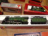 Model train 00 gauge flying Scottsman hornby