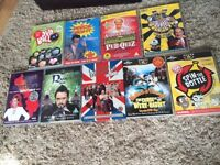 Selection of 9 DVD games