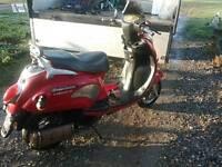 Chituma 125T scooter