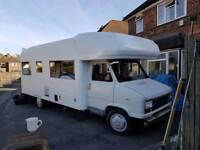 Motorhome campervan unfinished project