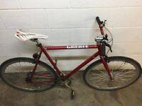 Road Urban Bike _CREATE Original 700C Bike. Comes with free safety helmet and two d-locks.