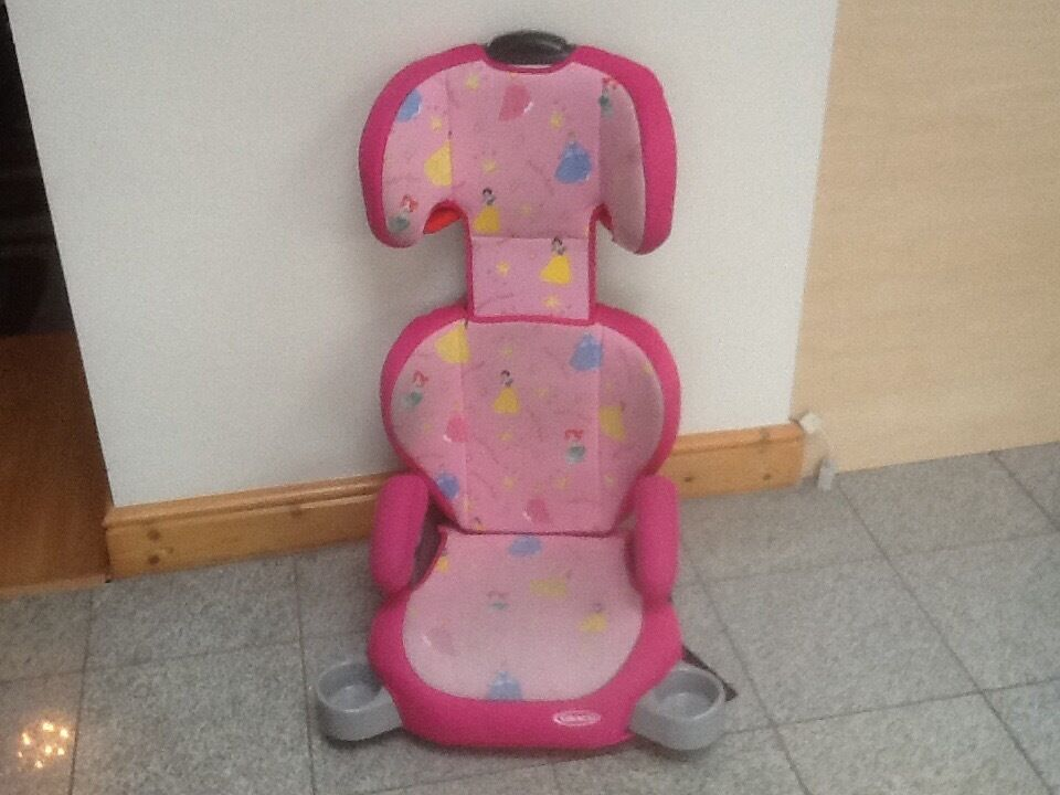 Full highback group 2 3 for 15kg upto 36kg(4yrs to 12yrs)height adjustable2piece booster car seat