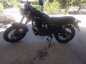 2015 Mercury Braaap Cafe Racer (Matte black) Mooney Mooney Gosford Area Preview