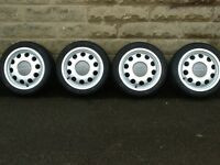 Audi A3 pepper pot alloys