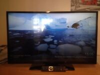 42 inch Hitatchi smart tv