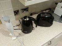 Toaster, kettle and mix master