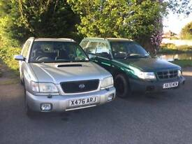 Subaru forester turbo and forester non turbo