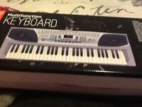 Brand new electronic keyboard.