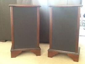 Mahogany Speaker Cabinets.