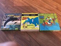 8MM FILM REELS BUNDLE WALT DISNEY DONALD DUCK PLUTO TOM AND JERRY THE WHALE STAR