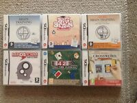 Nintendo DS Games x6