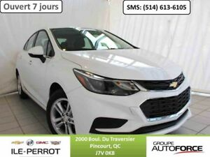 2017 CHEVROLET CRUZE LT, TOIT OUVRANT, MAG, TECNO PACK