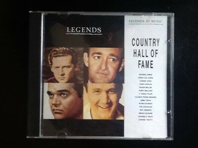 Country Hall of Fame Legends Various artists CD comprar usado  Enviando para Brazil