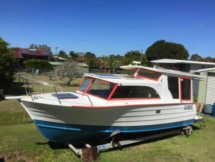 Bay Cruiser full cabin wooden hull Redland Bay Redland Area Preview