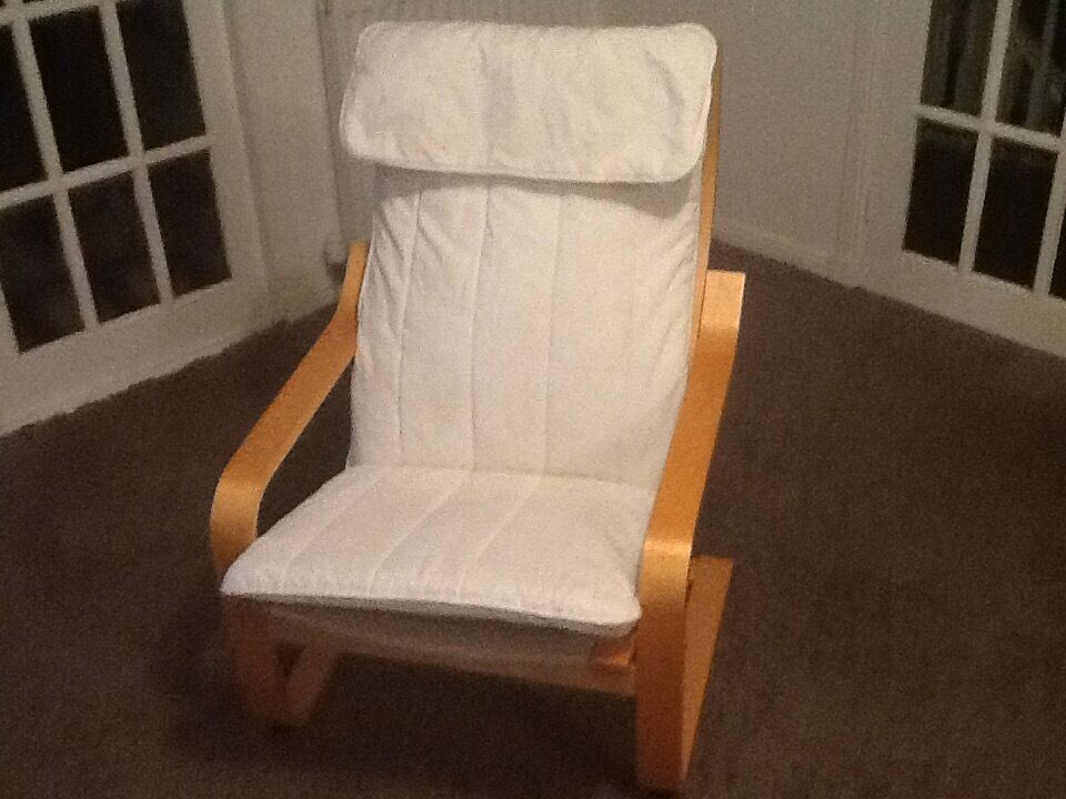 IKEA cream seatin East Kilbride, GlasgowGumtree - IKEA cream seat ,cover has a few marks but not too bad.the seat covers have Been washed and its looking great. ( ikea price £55 ) grab a bargain