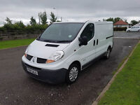 NO VAT 2007 07 RENAULT TRAFIC 2.0 DCI 115, LOW MILEAGE, TOW BAR, PX WELCOME