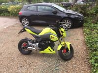 Honda MSX125/grom 17plate modified 'still has finance outstanding agreed with Honda finance to sell'