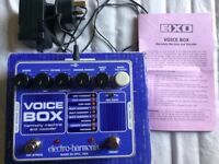 Electro-Harmonix Voice Box Vocal Harmony Machine & Vocoder Effect Pedal