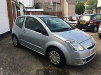 Citroen C2 SX 1.1ltr stunning example of this small engine C2 ideal first car long mot and service