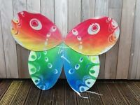 Set of 3 beautiful butterfly & Fairy wings, one of the wings is hand made, £40 for the set