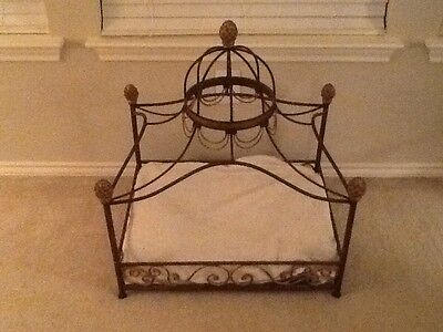 NEW Neiman Marcus fancy dome canopy dog cat pet bed*******HOUSTON TX BUYER ONLY