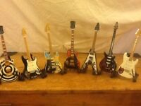 The Baby Axe little heroes miniature guitars