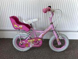 "Cupcake 14"" girls bike"