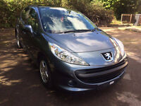 PEUGEOT 207 2006 1.4 PETROL PERFECT CONDITION/AC/5DR/GLASS ROOF
