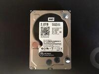 """Western Digital WD Black 2TB,Internal,7200 RPM,8.89 cm (3.5"""")"""