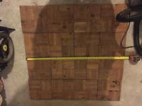 Parquet flooring for sale - boxed and ready
