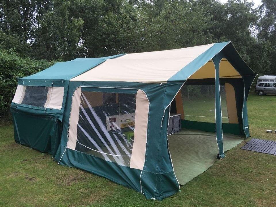 Trigano Randger 415 DL Folding Camper Trailer Tent 2005 ...