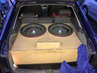 Precision Power 18 inch sub #speaker #sub woofer