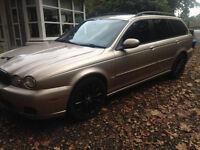 2005 jaguar estate ,126k,m.o.t. june (no advisory) drives' superb , no issue's £1199